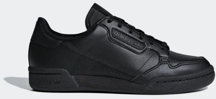 adidas Continental 80 core black/carbon (Junior) (F97500)