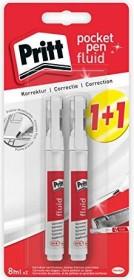 Pritt Korrektur Pocket Pen weiß, 2er-Pack (2081356)