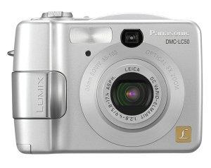 Panasonic Lumix DMC-LC50 silver (various Bundles)