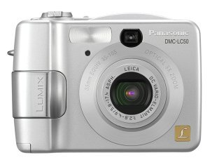 Panasonic Lumix DMC-LC50 srebrny (różne zestawy)
