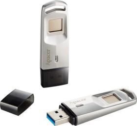 Apacer AH651 Fingerprint silber 64GB, USB-A 3.0 (AP64GAH651S-1)