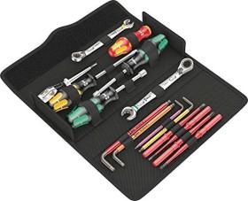 Wera Kraftform Kompakt SH 2 Sanitär/Heizung/PlumbKit Handwerkzeugset, 15-tlg. inkl. Tasche (05136026001)