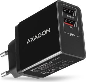AXAGON ACU-QS24 QC3.0 + 5V-1.2A wall Charger black