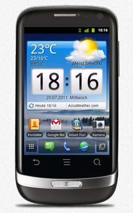 Huawei U8510 Ideos X3 black