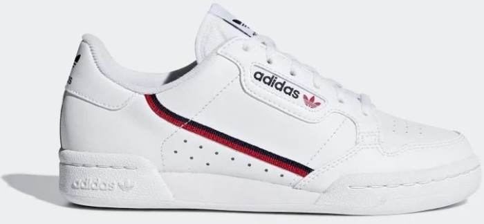 adidas Continental 80 ftwr white/scarlet/collegiate navy (Junior) (F99787)