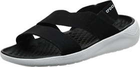 Crocs LiteRide schwarz/weiß (Damen) (205106-066)