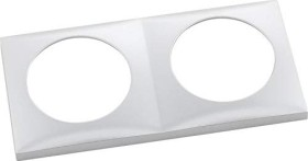 Berker Integro FLOW Rahmen 2fach, chrom matt (918262558)