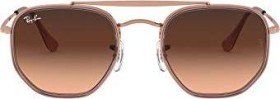 Ray-Ban RB3648M Marshal II 52mm bronze-copper-pink/pink-brown gradient (RB3648M-9069A5)