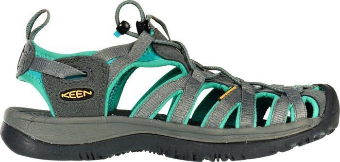 Keen Whisper Grau, Damen Sandale, Größe EU 40.5 - Farbe Dark Shadow-Ceramic Damen Sandale, Dark Shadow - Ceramic, Größe 40.5 - Grau