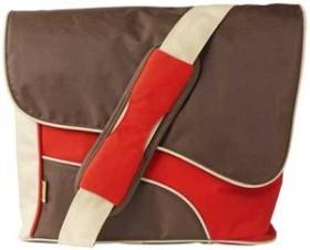 "Trust Street Style Messenger Bag 15.4"" messenger bag brown/red (15852)"