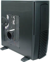 """Chieftec SPX-01B-F Seitenteil mit kleinem Sichtfenster schwarz für alle Modelle der """"X"""" Serie"""