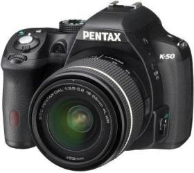 Pentax K-50 schwarz mit Objektiv Fremdhersteller