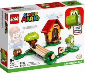 LEGO Super Mario - Marios Haus und Yoshi Erweiterungsset (71367)