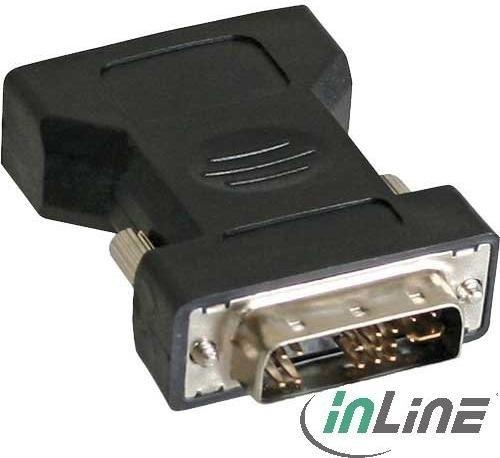 InLine DVI-A [Stecker] auf VGA [Buchse] Adapter (17780)