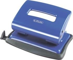 Herlitz Bürolocher 2.0mm mit Anschlagschiene, blau (1610559)