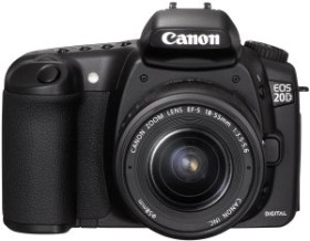 Canon EOS 20D schwarz mit Objektiv EF-S 18-55mm 3.5-5.6 (9442A028/9442A080)