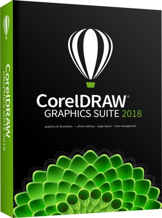 Corel CorelDraw Graphics Suite 2018, Update, ESD (deutsch) (PC) (ESDCDGS2018EUUG)