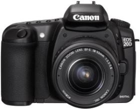 Canon EOS 20D schwarz mit Objektiv Fremdhersteller