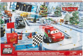 Mattel Disney Cars Mini Racers Advent Calendar 2020 (GPG11)