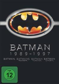 Batman Box (Filme 1-4) (DVD)