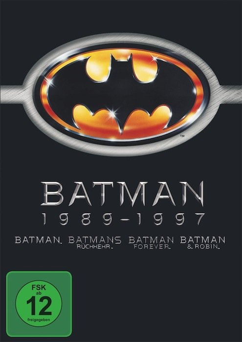 Batman Box (movies 1-4)