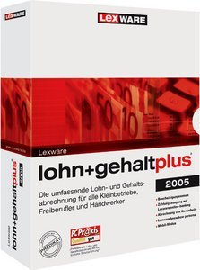 Lexware: wage + salary Plus 2005 9.0 (German) (PC) (08857-0008)