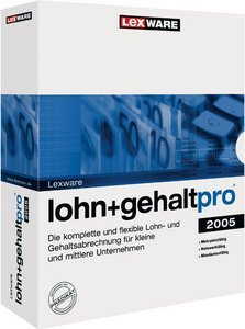 Lexware: wage + salary Pro 2005 5.0 (German) (PC) (09172-0015)