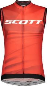 Scott RC Pro Trikot ärmellos fiery red/white (Herren) (275272-5102)