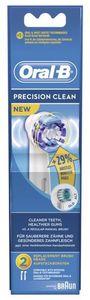 Braun Oral-B brush heads Precision Clean, 2-pack (EB20-2)