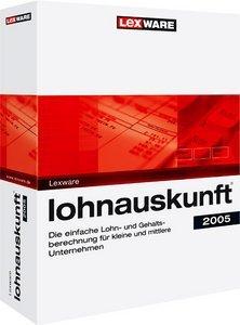 Lexware Lohnauskunft 2005 13.0 (deutsch) (PC) (08846-0028)