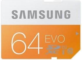 Samsung EVO R48 SDXC 64GB, UHS-I, Class 10 (MB-SP64D/EU)