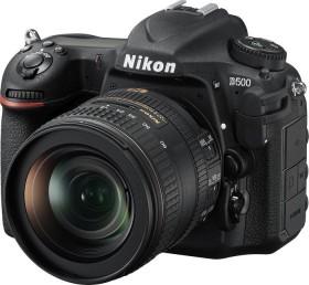 Nikon D500 black with lens AF-S VR DX 16-80mm 2.8-4.0E ED (VBA480K001)