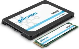 Micron 5300 MAX - Mixed Use 3.84TB, TCG Enterprise, SATA (MTFDDAK3T8TDT-1AW16ABYY)