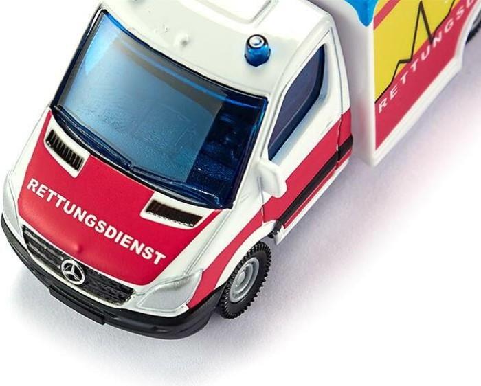 """Siku 1536 Mercedes Benz Sprinter /""""Rettungswagen 112/"""" weiss//rot//gelb NEU °"""