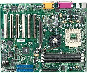 EPoX EP-8KHA+, KT266A (DDR), onboard P80P