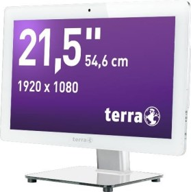 Wortmann Terra All-in-One-PC 2211wh Greenline weiß, Core i5-4590S, 4GB RAM, 500GB SSHD (1009496)