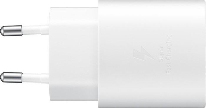 Samsung Schnellladegerät 25W USB Typ-C weiß (EP-TA800XWEGWW)