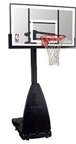 Spalding NBA Platinum portable basketball stand (3001650010954)