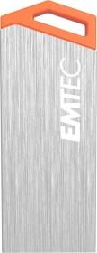 Emtec miniMetallic 16GB, USB-A 2.0 (ECMMD16GS210S)