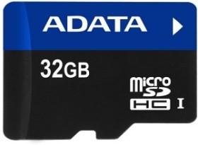 ADATA Premier R20 microSDHC 32GB Kit, UHS-I U1, Class 10 (AUSDH32GUI-RA1)