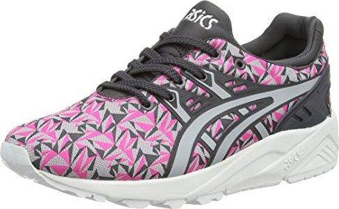 Asics Gel-Kayano Trainer Evo, Unisex-Erwachsene Sneakers, Pink (Knockout Pink/Light Grey 2013), 44.5 EU