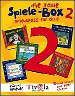 Die tolle Spiele-Box 2, ab 4 Jahren (PC+MAC)