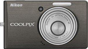 Nikon Coolpix S510 schwarz (VAA961E1)