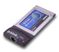 D-Link DFE-670TXD, 1x 100Base-TX, PC Card