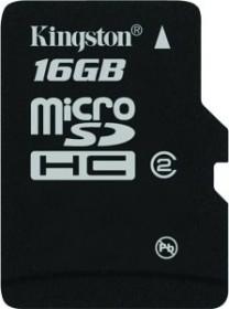 Kingston microSDHC 16GB, Class 2 (SDC2/16GBSP)