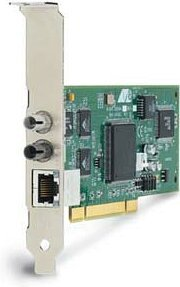 Allied Telesis AT-2451FTX/ST, 1x 100Base-TX/10Base-FL, PCI, low profile