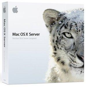 Apple: Mac OS X 10.6 Snow Leopard Server, unlimited User (deutsch) (MAC) (MC190D/A)