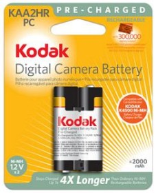 Kodak EasyShare KAA2HR-PC NiMH battery (3946001)
