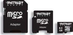 Patriot Signature microSDHC 16GB Kit, Class 2 (PSF16GMCSDHC23P)