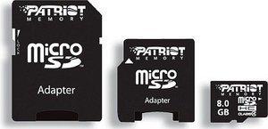 Patriot Signature Series microSDHC 16GB Kit, Class 2 (PSF16GMCSDHC23P)